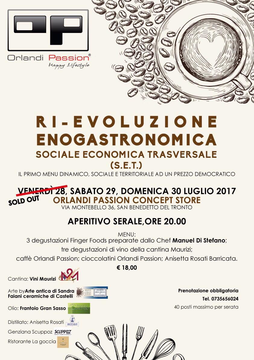 Ri-Evoluzione Enogastronomica