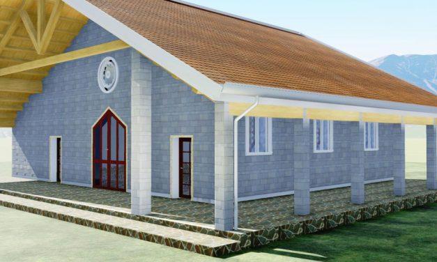 chiesa polifunzionale roccafluvione