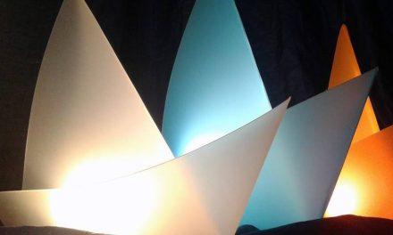 Velina Lamp, la lampada eco con una vena artistica