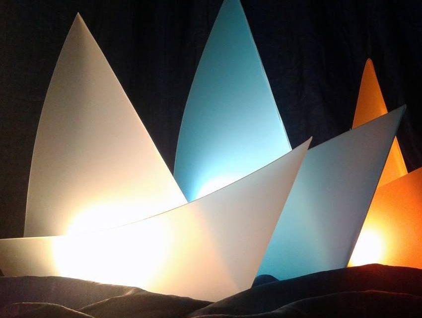 Lampadario Di Carta Velina : Velina lamp la lampada eco con una vena artistica nextolife
