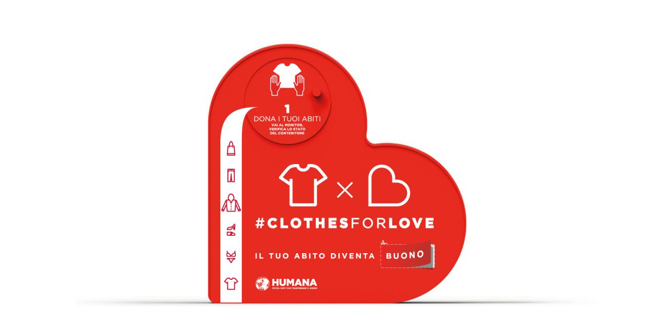 Clothes for Love, un progetto al servizio della solidarietà e dell'ambiente