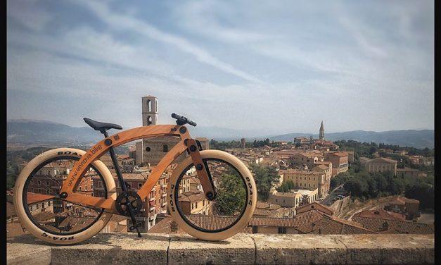 Ennova.bike è la bici di legno che presto potreste noleggiare nella vostra città