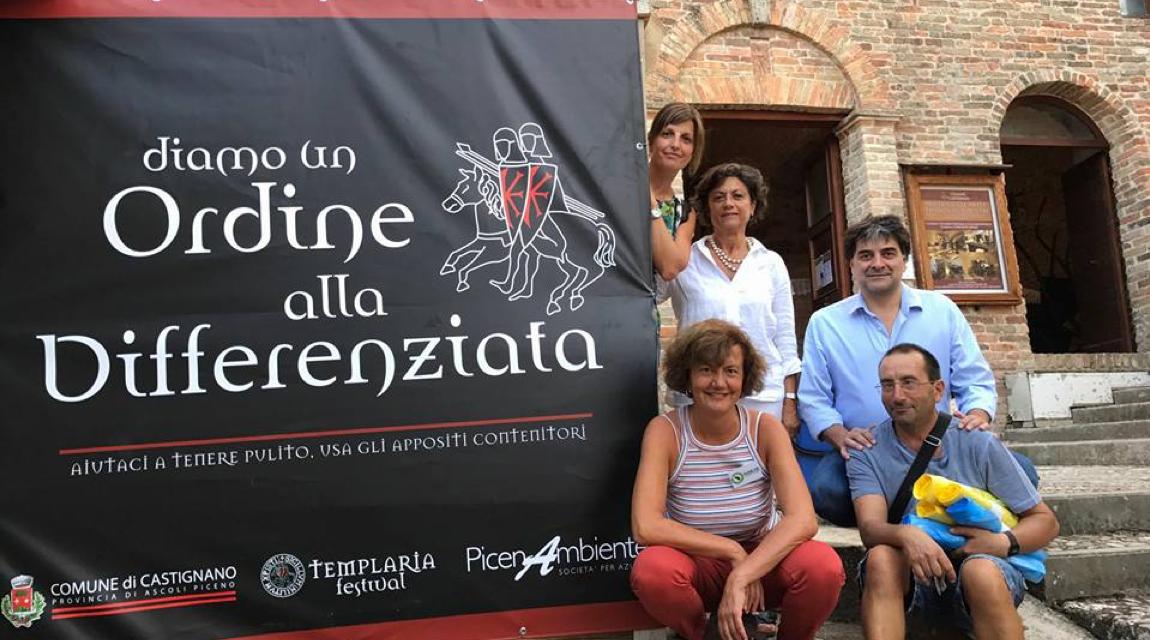 Castignano lancia le ecosagre, obiettivo arrivare al 75% di zero waste