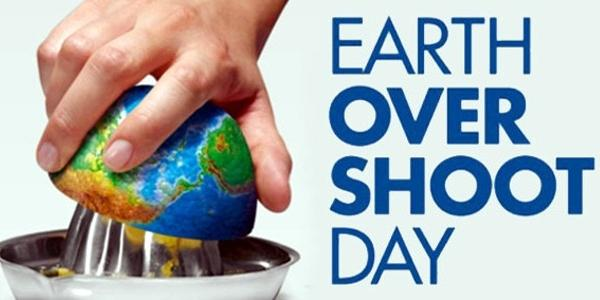 Dal 1 agosto finiscono le risorse naturali della Terra