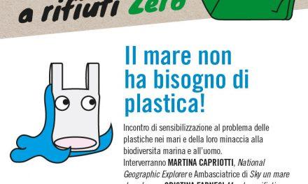 """Ad Ascoli Piceno """"Il mare non ha bisogno di plastica!"""""""