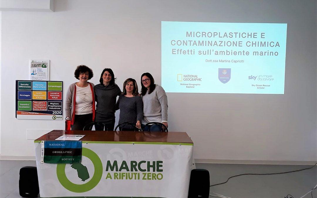 """""""Siamo in un mare di plastica"""": a Castignano continua la marcia verso Rifiuti Zero!"""