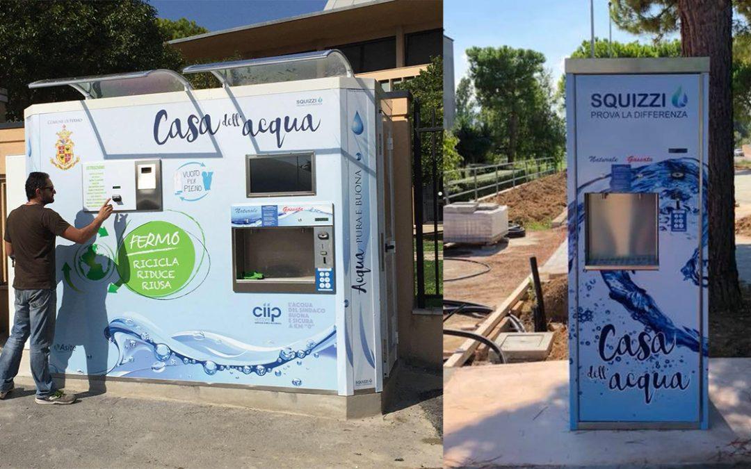"""Acqua a Km zero per molti Comuni del Piceno e del Fermano grazie a Squizzi e la sua """"Casa dell'acqua"""""""